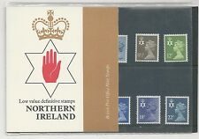 GREAT BRITAIN, BRITISH POST OFFICE MINT STAMPS-NORTHERN IRELAND DEFINITIVES