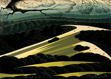 "Eyvind Earle     ""California Hills""    MAKE  OFFER    DSS"