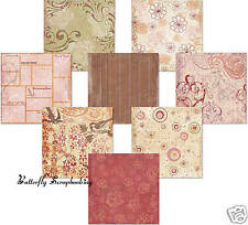 LOVE Wedding ROMANCE Paper Pack Collection 12x Scrapbooking FLAIR DESIGNS New