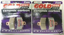 Gold Fren Gas Gas 50 125 200 250 270 321 Motorcycle Rear Brake Pads S3 FA291 TWO