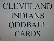 CLEVELAND INDIANS  - 50 DIFFERENT ODDBALL cards