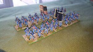 28mm ACW Union infantry 2 x 20 figure regiments
