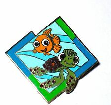 Retired Disney Pin✿Finding Nemo Friend Sea Turtle Crush Baby Mystery Machine WDW