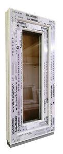 Kunststofffenster Fenster Salamander, 40x90 cm bxh, weiß
