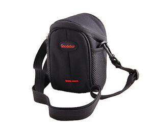 Nylon Shoulder Waist Case Bag For CANON PowerShot G1 X Mark II