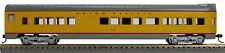HO 72 Ft Pass. Tail End Observation Car, RTR Union Pacific (Yellow/Grey) (1-961)