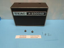 Teac A-2300SD Reel To Reel Head Housing & Name Plate With Mount Screws # 2 Used