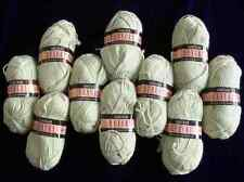 ~ GORGEOUS ENGLAND SIRDAR KNITTING  CROCHET WOOL COTTON YARN 10 SKEINS ~