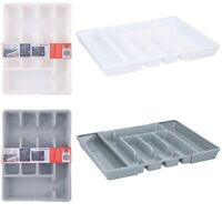 Alpina Adjustable Extending Kitchen Drawer Cutlery Tray Utensil 5 -7 Holder