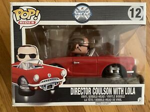 Funko Pop! Rides Marvel Agents Of Shield Director Coulson with Lola #12
