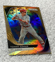 🔥 2020 Panini Prizm Tommy Edman Orange Prizm Parallel /100 St. Louis Cardinals
