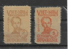 NORTH VIET NAM Sc 1L62-63 NH COMPLETE SET OF 1948 - HO CHI MINH