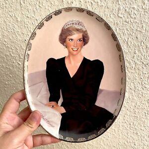 Prinzessin Diana Porzellan Wandteller B)  22cm Lady Di Queen of Hearts Tiara 🎁
