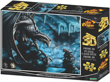 Jigsaw 3D Puzzle Anne Stokes 24 Inch by 18 Inch 500 Piece - Rock Dragon