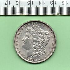 More details for 1882 u. s. a. genuine morgan silver dollar