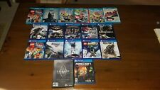 Wii U, PS4, and PC game lot. Selling games individually