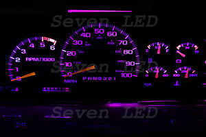 LED KIT for Tahoe Silverado Yukon SIERRA Suburban GMC 95-99 CHEVY CLUSTER Purple