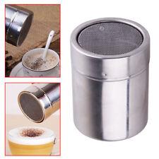 Edelstahl Schokoladen Kakaostreuer Mehl Kakaopulver Kaffeesieb Kochwerkzeug NEU