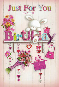 For Her Birthday Card female sister friend daughter