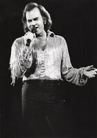 NEIL DIAMOND PHOTO LONDON 1984 UNIQUE IMAGE UNRELEASED HUGE12INCH EXCLUSIVE  GEM