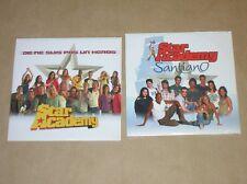 LOT 2 CD SINGLE 2 TITRES / STAR ACADEMY / JE NE SUIS PAS UN HEROS + SANTIANO