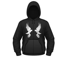 HOLLYWOOD UNDEAD MIRROR DOVE MENS HOODED ZIPPER SWEATER L NEW OFFICIAL