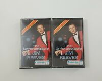 The Unforgettable Jim Reeves Cassettes Tape 1 Tape 2 1979 Readers Digest