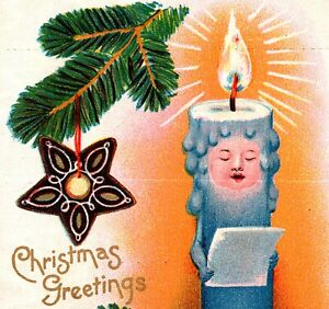 Anthropomorphic Singing Christmas