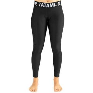 Tatami Fightwear Women's Black Minimal Spats - Black