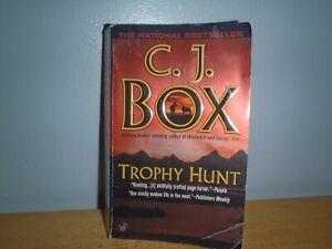 C. J. Box Trophy Hunt Paperback Book Joe Pickett Series