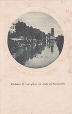 PADOVA - Il Bacchiglione con Veduta dell'Osservatorio 1923