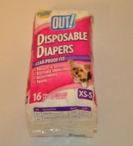 Out Disposable Diapers For XS Dogs