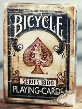 Bicycle Ellusionist Vintage Series 1800 BLUE Deck US Playing Cards Poker Magic