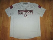 Mens Adidas Climalite Mississippi State Bulldogs athletic tee t shirt Xl