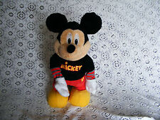 """Mattel   2009  Walking  Talking  Mickey  Mouse  17""""  Model  With Several Sayings"""