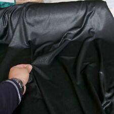schwarz Designer-Jersey mit Motiven Jaquard-Optik blickdicht Stoff Tolko