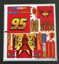 Lego 8484 Stickers - Lightning McQueen Ultimate Build Cars 2 - New Sticker Sheet