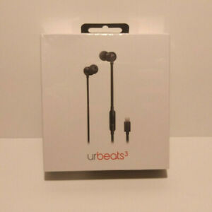 Beats by Dr Dre urBeats3 Earphones with Lightning Connector Black MU992LL/A