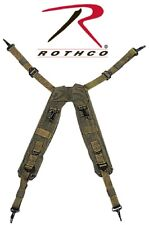 Suspenders - Military Gi Style H Type Lc-1 Olive Drab One Size by Rothco