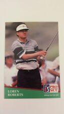 LOREN ROBERTS 1991 PRO SET PGA TOUR GOLF Card # 149 C0091