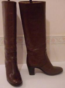 TANINO CRISCI Italian Leather Knee High Boots Size EU 35 UK 2.5,3 US 5