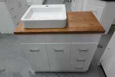 Pasadena 900 Vanity featuring Wormy Chestnut Timber Bench Top
