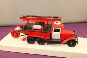 LOMO-AVM ZIS PMZ Russian Fire Truck 1:43 Scale Model for Collectors