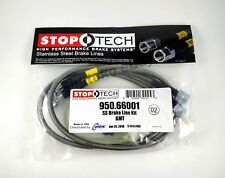 STOPTECH STAINLESS STEEL BRAIDED FRONT BRAKE LINES FOR 99-05 GMC SIERRA 1500