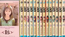 I''S tomes 1 à 15 Masakazu Katsura MANGA shonen SERIE COMPLETE