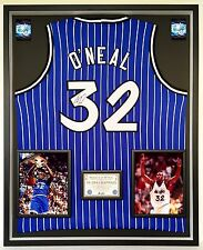 Premium Framed Shaquille O'Neal Signed Orlando Magic Jersey - JSA - Shaq Oneal
