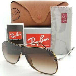 NEW Rayban sunglasses RB4311N 710/13 Brown Gradient 4311 AUTHENTIC Blaze Shield