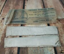 Cotero Tongue Pads for Antique Women's Lace up Boots