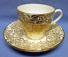 GOLDEN CROWN BONE CHINA ENGLAND  BEAUTIFUL  PATTERN LOTS OF GOLD GILT VINTAGE