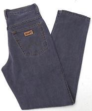 Wrangler Utah Herren Men Jeans Hose denim 30/34 W30 L34 Grau/ Flieder TOP B377
